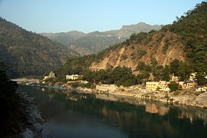 Ganges River at Rishikesh.