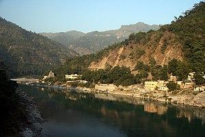 Ganges River at Rishikesh.