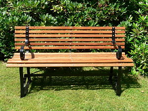 Bench (furniture) - Classic garden bench