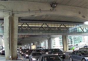 PATH (Toronto) - PATH walkway under the Gardiner Expressway and over Lake Shore Boulevard