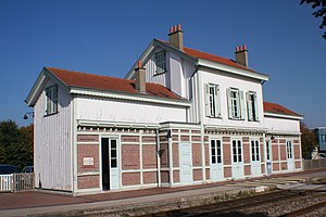 Gravelines - Gare de Gravelines on the TER Nord-Pas-de-Calais system.