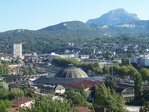 Gare et Rotonde de Chambéry