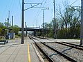 Gary Chicago Airport at Clark Road station (26580094221).jpg