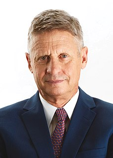 Gary Johnson American politician, businessman, and 29th Governor of New Mexico