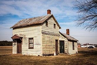 Catlett Historic District - Image: Gaskins Ln Catlett VA 4841