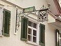 Gasthof Adler,Wirtshausschild, Fluh 11, Bregenz Vbg.JPG