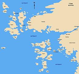 bältesspännarparken göteborg karta Archipelago of Gothenburg   Wikipedia bältesspännarparken göteborg karta
