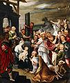 Gemäldepaar Geburt Christi Deutschland 17 Jh 1 Anbetung der Könige.jpg