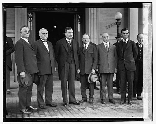 Plutarco Elias Calles at the American Federation of Labor Building, 1924. General PE Calles 3.jpg