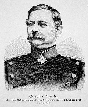 Georg von Kameke - Georg von Kameke.