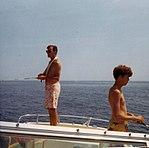 George Bush and son, Jeb, fishing circa 1969 (2904).jpg