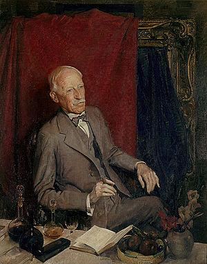 Julian Ashton - Portrait of Julian Ashton by George Washington Lambert, 1928