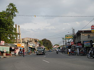 Gerona, Tarlac - Downtown area