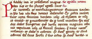 Gesta Hungarorum - Chapter 31 of the Gesta Hungarorum