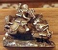 Giappone, periodo edo, netsuke (fermaglio per inroo), xix secolo, 077 divinità e cavallo.jpg