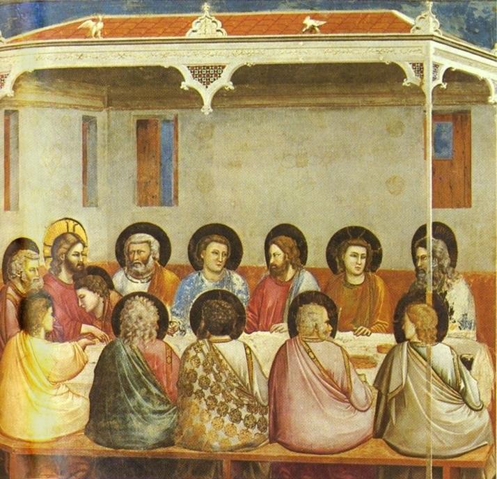 Giotto - Scrovegni - -29- - Last Supper
