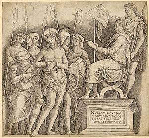 Giovanni Antonio da Brescia - Image: Giovanni Antonio da Brescia Pilate
