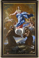 The Immaculate Conception with Saints Francis of Assisi and Anthony of Padua