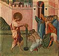 Giovanni di paolo, St Ansanus Baptizing.jpg