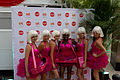 Glamourous women doing a promotion of some sorts at TIFF 2011 -b.jpg