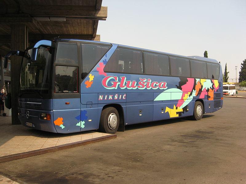 Montenegrin bus