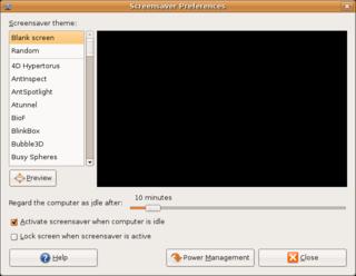 GNOME Screensaver