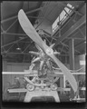 Gnome rotary engine, mounted on stand. - NARA - 518849.tif