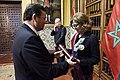 Gobierno condecora a Embajadora de Marruecos en el Perú - 29645024221.jpg