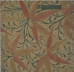 Edward William Godwin - Image: Godwin wallpaper design