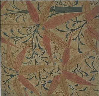 Edward William Godwin - Image: Godwin wallpaper design