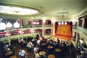 Golden Horseshoe Saloon - Interior of the Saloon
