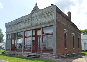 National Register of Historic Places listings in Adams County, Illinois - Image: Golden Exchange Bank