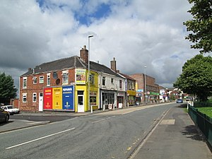 Goldenhill - Image: Goldenhill High Street