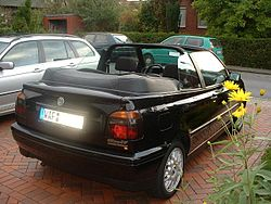 Driven  e2 98 80 Vw Golf R Cabriolet 2 0 Tsi 6spd Dsg together with File Audi A3 Cabriolet 1 8 TFSI front 20100519 as well Morris Minor 1000 History in addition Volkswagen Golf III besides Vw Beetle Cabriolet Range Pictures. on volkswagen cabriolet convertible