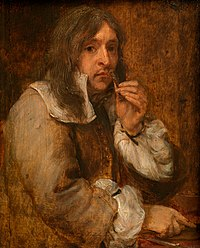 Gonzales Coques - Smell (possibly a portrait of Lucas Fayd'herbe).jpg