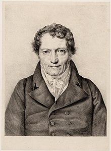 Gottfried Christoph Härtel, Reproduktion nach einem Porträt von Ferdinand Georg Waldmüller (1823) (Quelle: Wikimedia)