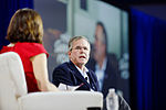 Governor of Florida Jeb Bush at New Hampshire Education Summit The Seventy-Four August 19th, 2015 by Michael Vadon 09.jpg