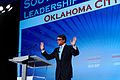 Governor of Texas Rick Perry at Southern Republican Leadership Conference, Oklahoma City, OK May 2015 by Michael Vadon 01.jpg