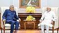 Governor of West Bengal Jagdeep Dhankhar with Prime Minister of India Narendra Modi.jpg
