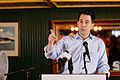 Governor of Wisconsin Scott Walker at Belknap County Republican LINCOLN DAY FIRST-IN-THE-NATION PRESIDENTIAL SUNSET DINNER CRUISE, Weirs Beach, New Hampshire May 2015 by Michael Vadon 06.jpg