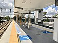 Graceville railway station, Brisbane, Queensland platform.jpg
