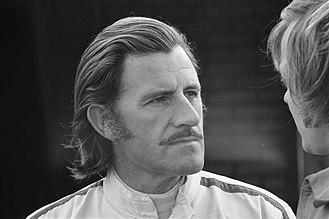 Graham Hill - Hill at the 1971 Dutch Grand Prix