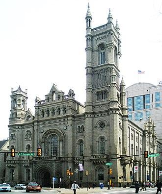 James H. Windrim - Philadelphia Masonic Temple, Philadelphia, PA (1868-73).