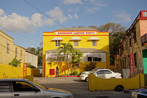 Barbados Labour Party - Grantley Adams House, the party's current headquarters, Bridgetown
