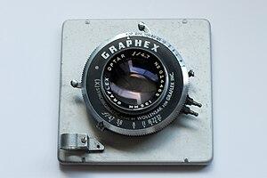 Lens board - Image: Graphex lens board