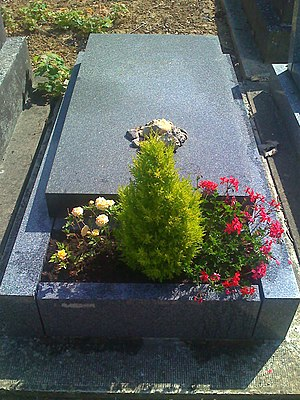 Joseph Roth - The grave of Joseph Roth at the Cimetière de Thiais