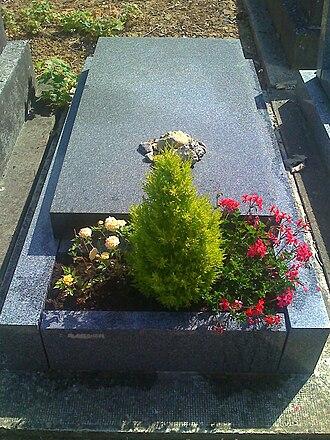 Joseph Roth - The grave of Joseph Roth at the Cimetière de Thiais