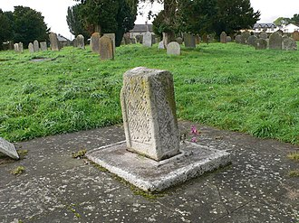 Diarmait Mac Murchada - Gravestone at Ferns Cathedral. This is said to be the gravestone of Mac Murchada.