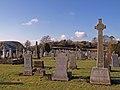 Graveyard, Dunlop Kirk - geograph.org.uk - 1737093.jpg