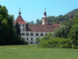 Eggenberg (Graz) - The Eggenberg palace in 2003.